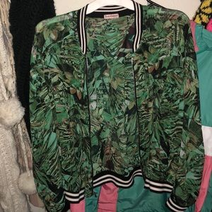 Sheet Juicy Couture bomber jacket